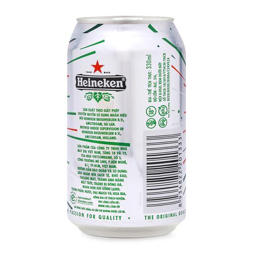 Bia Heineken Lon 1