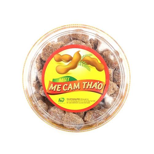 Mứt Me Cam Thảo Hương Việt Hộp Tròn 500g3