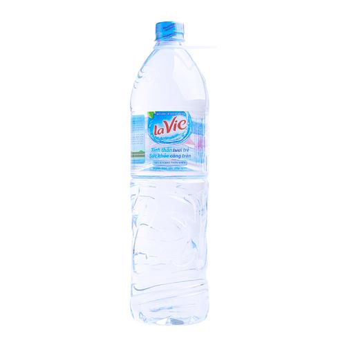 Nước khoáng thiên nhiên LaVie chai 1.5L 1
