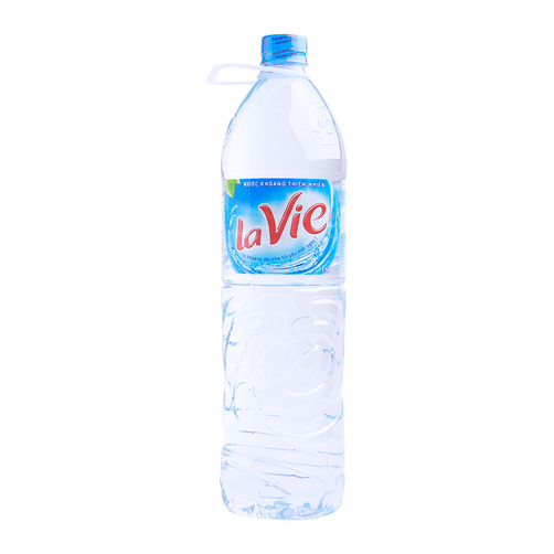 Nước khoáng thiên nhiên LaVie chai 1.5L