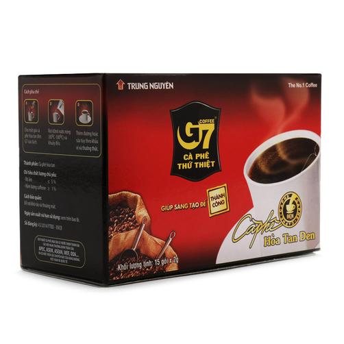 Cà phê đen hòa tan G7 hộp 30g