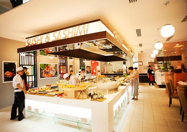 Buffet Lẩu Và Nướng Không Khói Ăn Thả Ga Gần 200 Món Tại Seoul Garden 8
