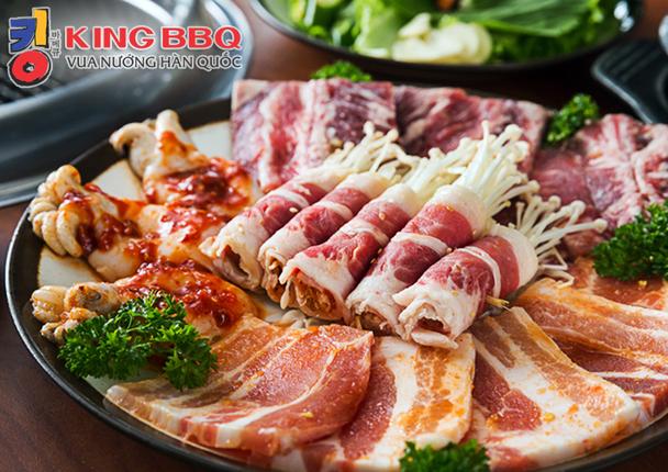 King BBQ – Chọn 01 Trong 03 Combo Nướng Ngon Không Thể Cưỡng (Cho 02 – 03 Người)