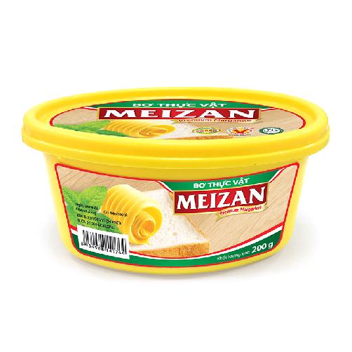 bơ thực vật meizan hộp 200gram