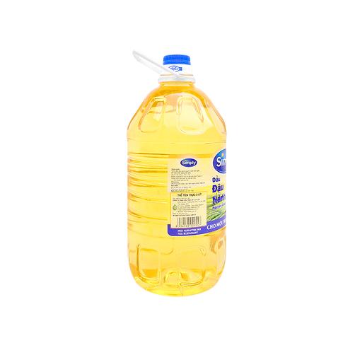 dầu đậu nành simply 5 lít….