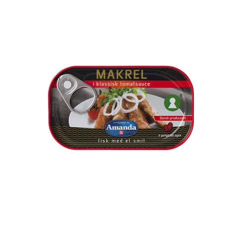 Cá thu fillet sốt cà chua cổ điển Amanda hộp 125g