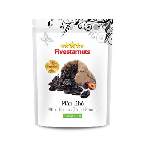 Mận khô fivestarnuts gói 500g