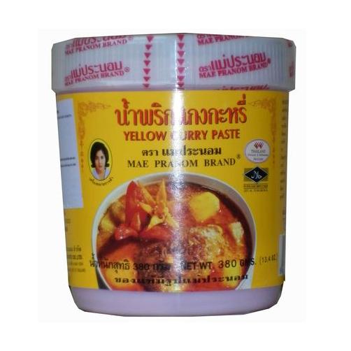 gia vị bột cà ri vàng mae pranom hộp 320g