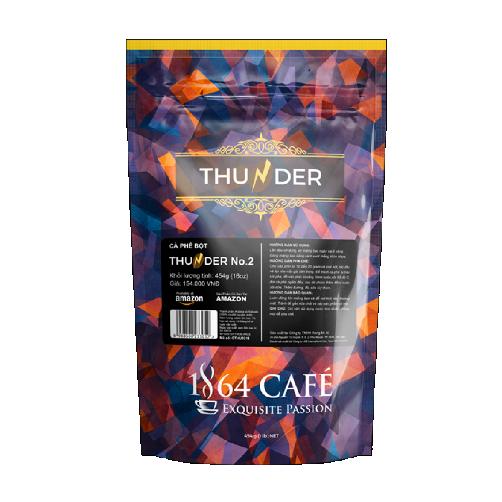 cà phê thunder số 2 gói 445g