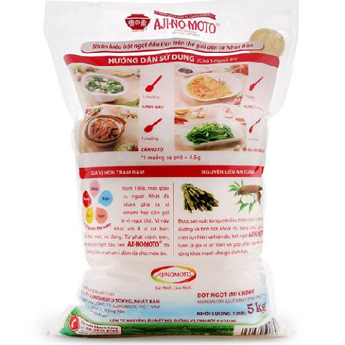 bột ngọt ajinomoto gói 5kg adayroi….