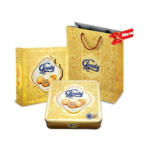 Bánh hỗn hợp goody gold cao cấp bibica hộp 450g