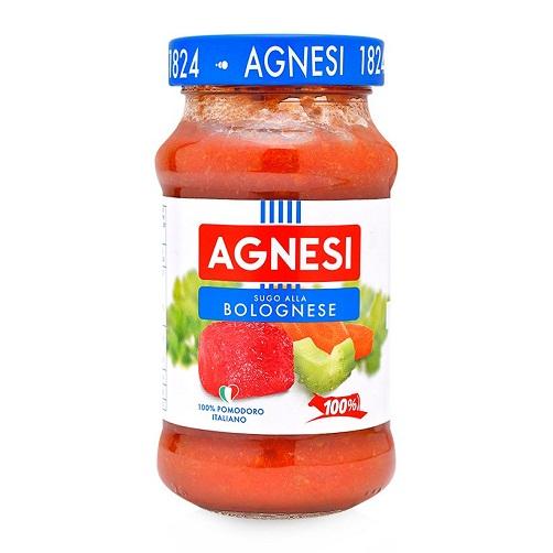 Sốt Bò Bằm Bolognese Agnesi Lọ 400g