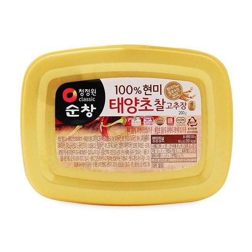 Tương ớt gạo lứt Chungjungone Daesang hộp 200g