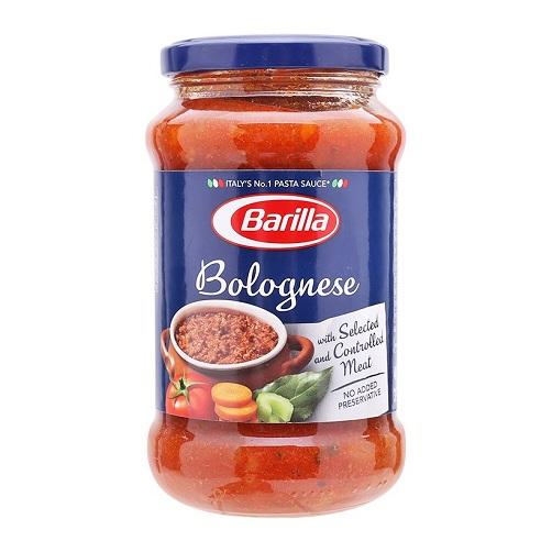 Sốt cà chua thịt bò bằm barilla lọ 400g
