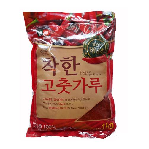 Bột Ớt Cánh Vảy Hàn Quốc Nong Woo Chakhan gói 1 Kg