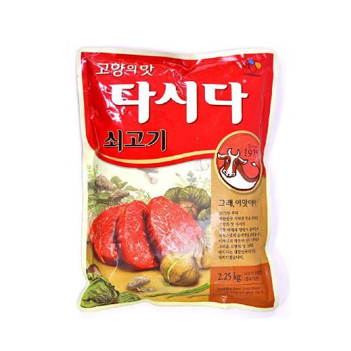 Hạt Nêm CJ FOODS Vị Bò Dasida gói 2,25Kg