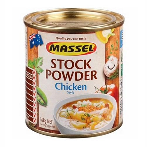 Hạt nêm Massel hương vị Gà Nhập khẩu Australia hộp 168g