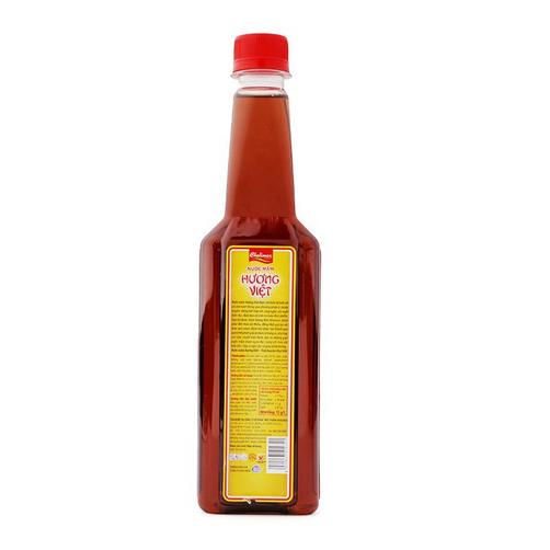 Nước mắm Hương Việt Cholimex tinh cốt từ cá cơm tươi chai 500ml.,.