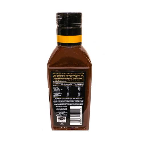 Sốt tẩm ướp BBQ MC Cormick vị khói chai 500g.,.