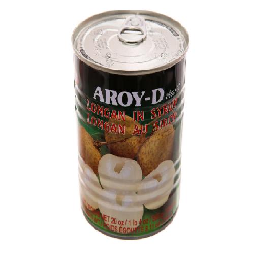 Trái Nhãn Ngâm Đường Aroy-D hộp 565g