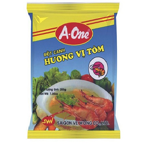Bot Canh Huong Vi Tom A-One Goi 200g