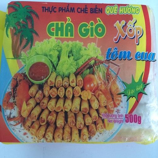 Cha Gio Xop Tom Cua Que Huong Goi 500g