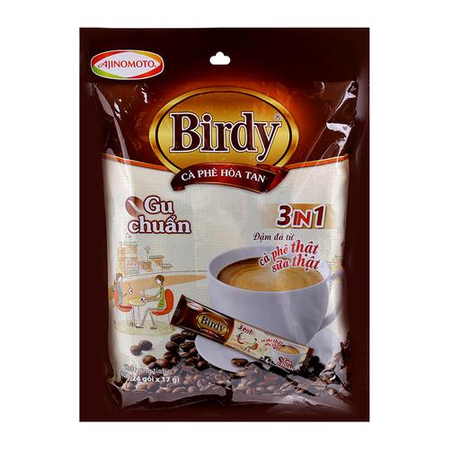 Ca Phe Hoa Tan 3in1 Birdy Goi 408g