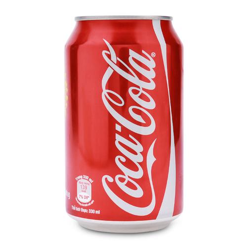 Nuoc Giai Khat Coca Cola Lon 330ml