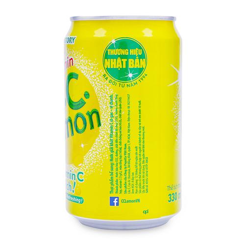 Nuoc Giai Khat Vitamin C Co Gas Vi Chanh CC Lemon 1