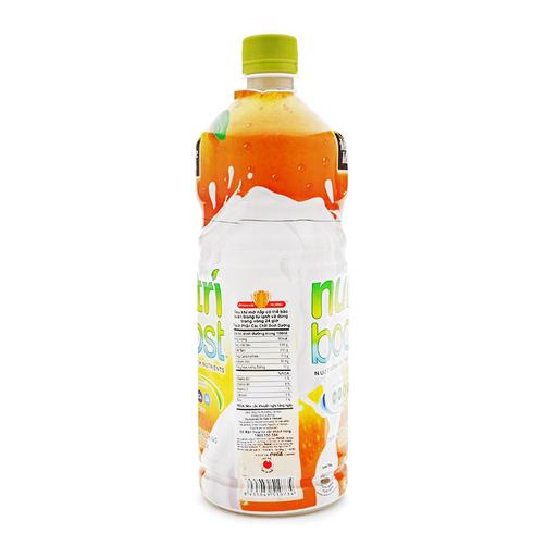 Nuoc Uong Sua Trai Cay Nutri Boost Huong Cam Chai 1L 1