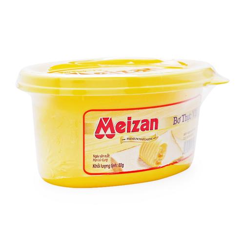 Bơ thực vật Meizan hộp 80g 1