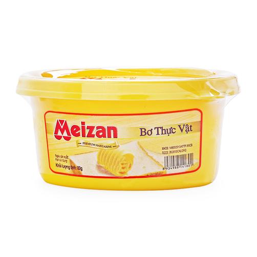 Bơ thực vật Meizan hộp 80g
