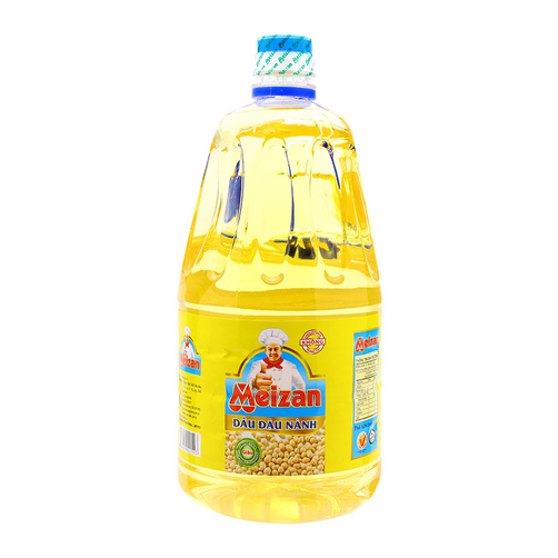 Dầu đậu nành Meizan chai 2L.1