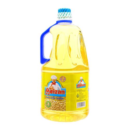 Dầu đậu nành Meizan chai 2L.2