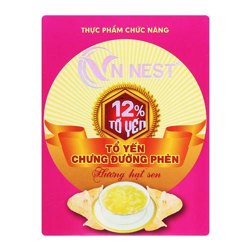 Tổ yến chưng đường phèn hương hạt sen VN Nest hộp 70ml
