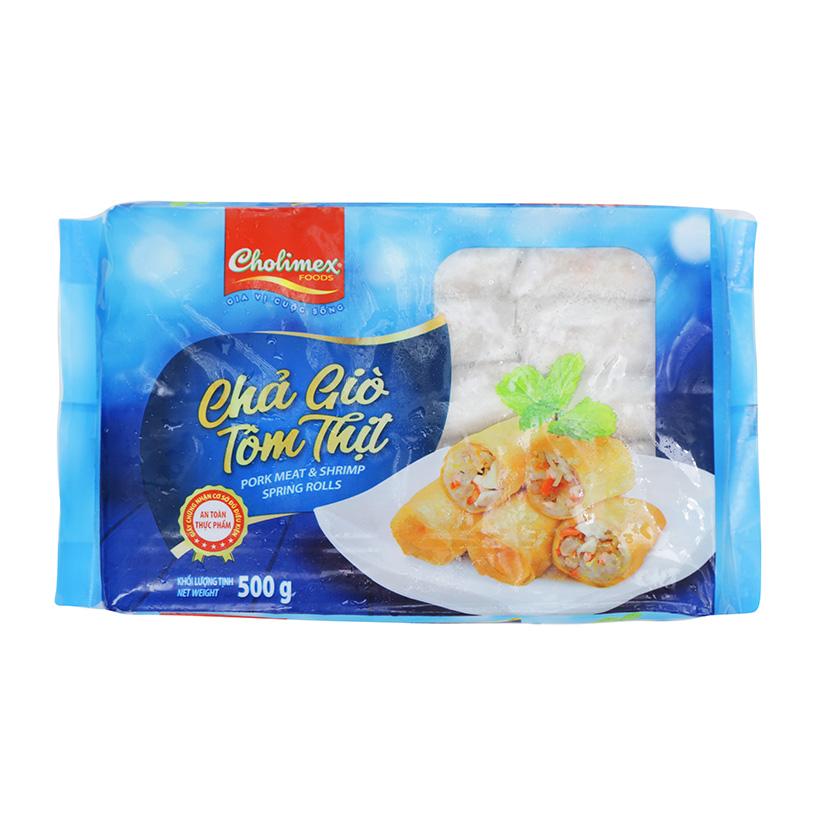 Chả Giò Tôm Thịt Cholimex Gói 500g