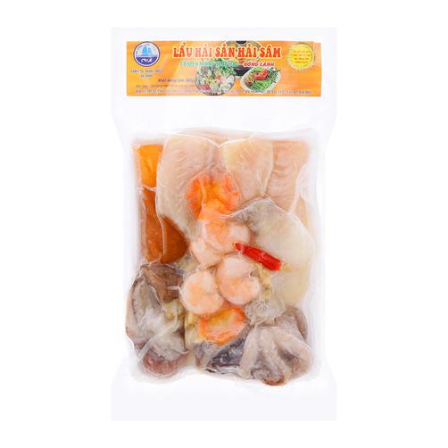 Lẩu hải sản hải sâm An Vĩnh gói 550g