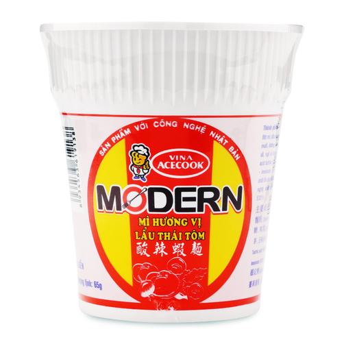 Mì hương vị lẩu Thái tôm Modern Vina Acecook cốc 65g.2