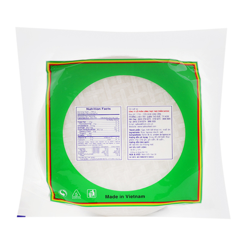 Bánh tráng Việt Nam Safoco gói 200g 1