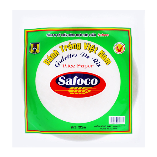Bánh tráng Việt Nam Safoco gói 300g