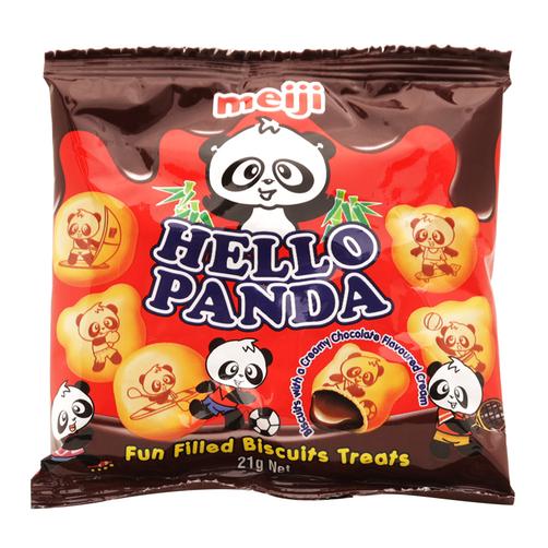 Bánh vị sô cô la Hello Panda Meiji gói 21g
