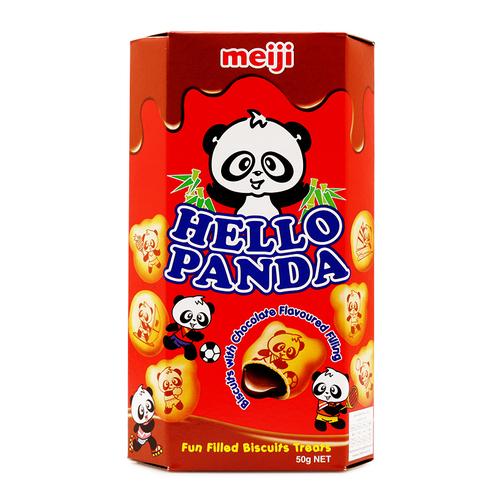 Bánh vị sô cô la Hello Panda Meiji hộp 50g