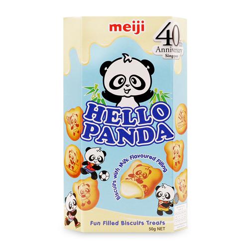 Bánh vị sữa Hello Panda Meiji hộp 50g