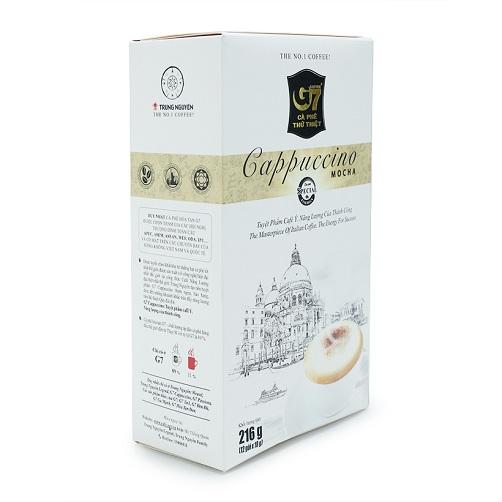 Cà Phê Cappuccino Mocha G7 Trung Nguyên Hộp 216g1