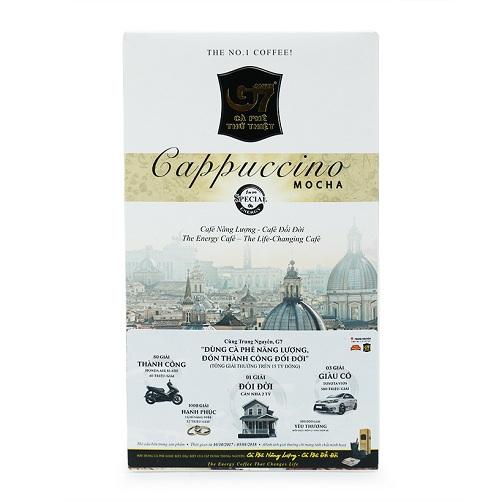 Cà Phê Cappuccino Mocha G7 Trung Nguyên Hộp 216g12