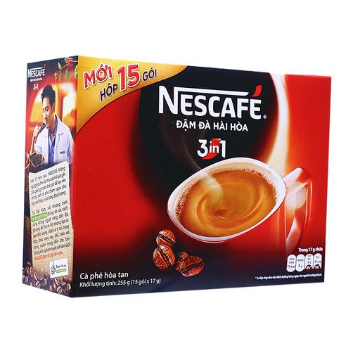 Cà phê hòa tan 3 trong 1 Nescafé hộp 255g 1