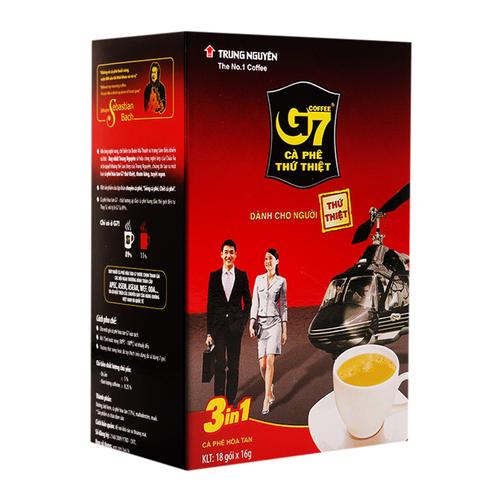 Cà phê hòa tan 3in1 G7 hộp 288g 1