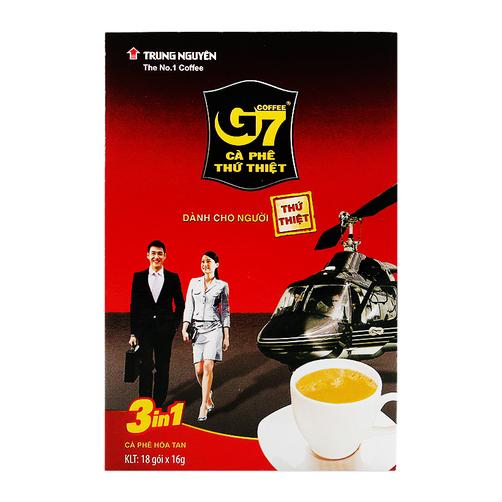 Cà phê hòa tan 3in1 G7 hộp 288g