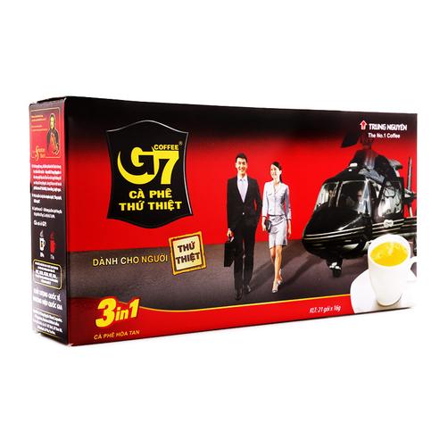 Cà phê hòa tan 3in1 G7 hộp 336g 1