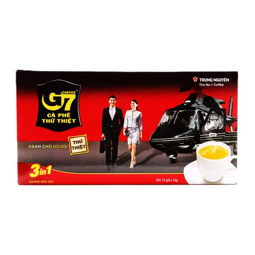 Cà phê hòa tan 3in1 G7 hộp 336g